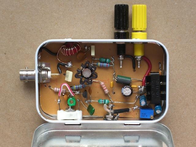 Corsette transmitter